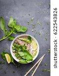 traditional vietnamese noodle... | Shutterstock . vector #622543826