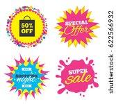sale splash banner  special... | Shutterstock .eps vector #622566932