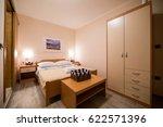 komiza  vis   croatia   aug 15  ... | Shutterstock . vector #622571396