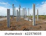Construction Site With Precast...
