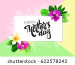vector mothers day greetings... | Shutterstock .eps vector #622578242