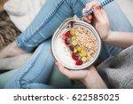 cereal for breakfast | Shutterstock . vector #622585025