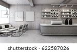 cafe shop   restaurant design... | Shutterstock . vector #622587026