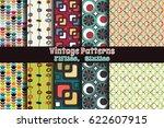 populuxe style ornamental... | Shutterstock .eps vector #622607915