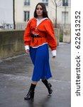 paris march 6  2017. street... | Shutterstock . vector #622613252