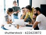 brainstorming process during... | Shutterstock . vector #622623872