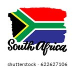 south africa hand drawn ink... | Shutterstock .eps vector #622627106