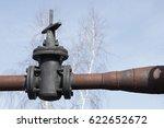 the stop valving for shutting...   Shutterstock . vector #622652672