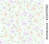 childish seamless pattern with...   Shutterstock .eps vector #622655582