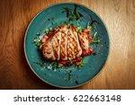 grilled chicken breast   Shutterstock . vector #622663148