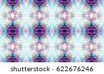 abstract seamless pattern with... | Shutterstock . vector #622676246
