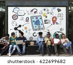 City Life Urban Scene Rush - Fine Art prints