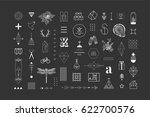set of different elements and... | Shutterstock .eps vector #622700576