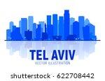 Tel Aviv Israel City Silhouette ...