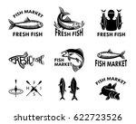 fish logo for fish market....   Shutterstock .eps vector #622723526