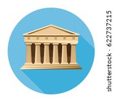 bank  courthouse  parthenon... | Shutterstock .eps vector #622737215