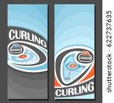 vector vertical banners for... | Shutterstock .eps vector #622737635