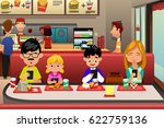 a vector illustration of family ... | Shutterstock .eps vector #622759136