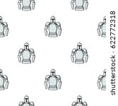 plate armor icon in cartoon... | Shutterstock .eps vector #622772318