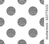 fitness ball icon in black...   Shutterstock .eps vector #622773122