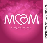 mothers day vector illustration | Shutterstock .eps vector #622786328