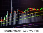 stock market chart stock market ...   Shutterstock . vector #622792748