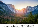 classic tunnel view of scenic... | Shutterstock . vector #622793576