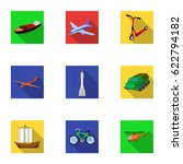 set of pictures about types of... | Shutterstock .eps vector #622794182