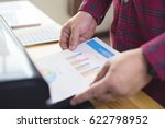 businessman analyzing...   Shutterstock . vector #622798952