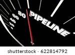 pipeline speedometer measure... | Shutterstock . vector #622814792
