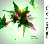 abstract green  background. | Shutterstock .eps vector #62283592