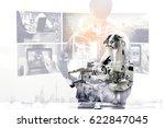 industrial internet of things   ... | Shutterstock . vector #622847045