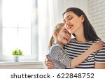 happy mother's day  mom and her ... | Shutterstock . vector #622848752