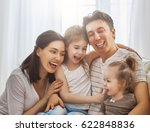 happy father's day  two... | Shutterstock . vector #622848836
