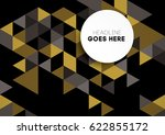 vector of abstract geometric... | Shutterstock .eps vector #622855172