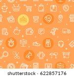 ecommerce online service... | Shutterstock .eps vector #622857176
