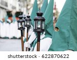 holy week procession  detail of ... | Shutterstock . vector #622870622