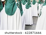 holy week procession  detail of ... | Shutterstock . vector #622871666