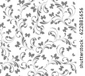 floral pattern. seamless... | Shutterstock .eps vector #622881656