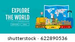 web banner on the theme of... | Shutterstock .eps vector #622890536