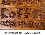 coffee theme  coffee beans   Shutterstock . vector #622893695