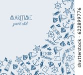 vintage maritime design... | Shutterstock .eps vector #622899776