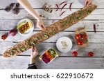 turkish big city konya famous... | Shutterstock . vector #622910672