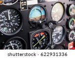 cockpit helicopter  ... | Shutterstock . vector #622931336