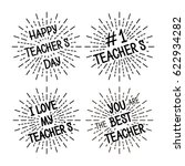 happy teacher's day different... | Shutterstock .eps vector #622934282
