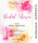 bridal shower invitation... | Shutterstock .eps vector #622942472