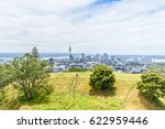 auckland view from mt eden with ... | Shutterstock . vector #622959446