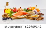 panoramic banner with fresh... | Shutterstock . vector #622969142