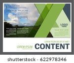 presentation layout design... | Shutterstock .eps vector #622978346