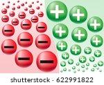 negative   positive business... | Shutterstock .eps vector #622991822